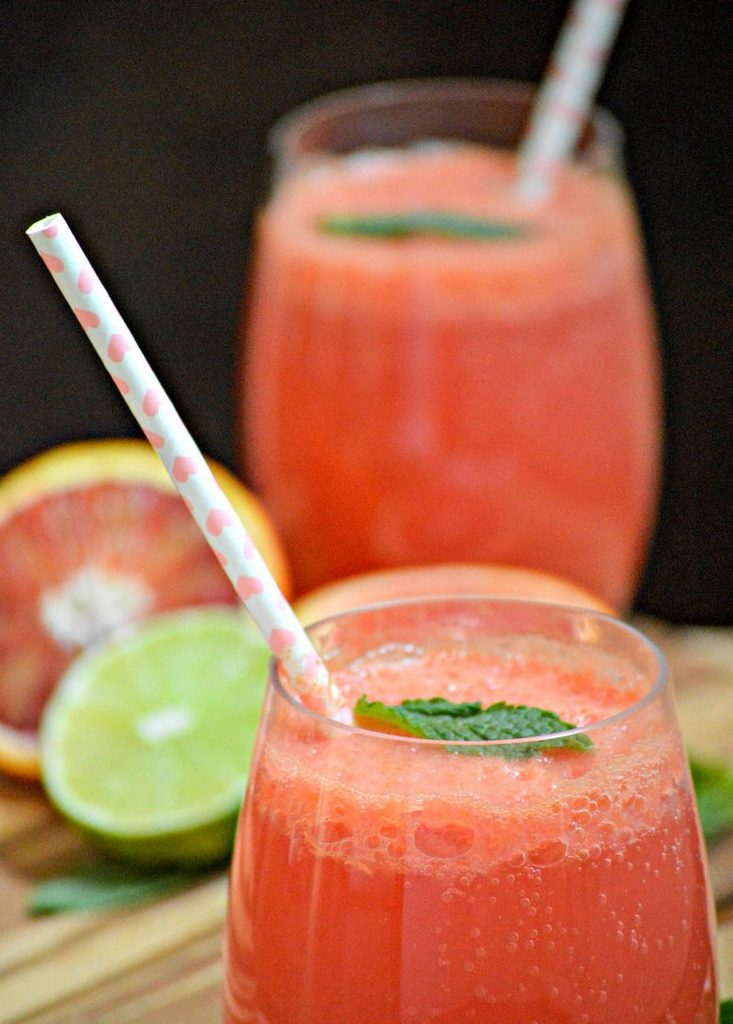 Orange Lime Sparkling Water - and 10 other cool, refreshing summer drink recipes!