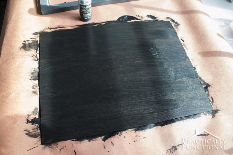 DIY Chalkboard Sign 5