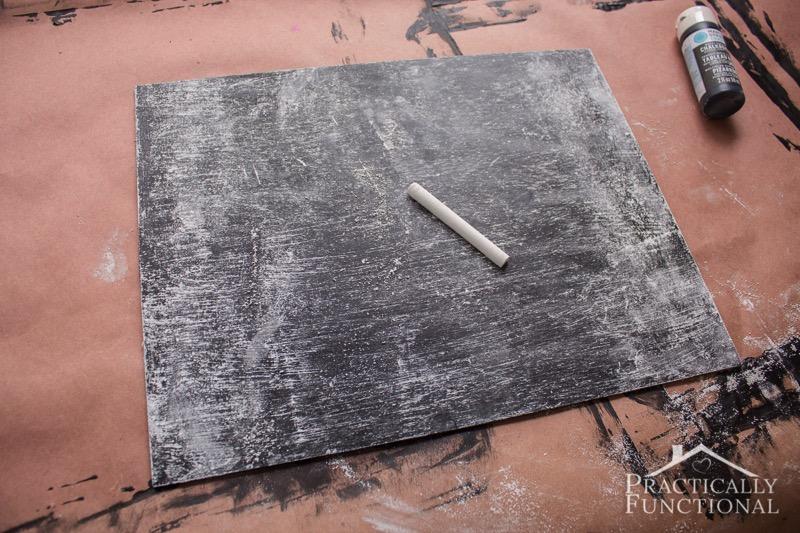 DIY Chalkboard Sign 7