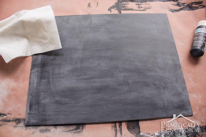 DIY Chalkboard Sign 8