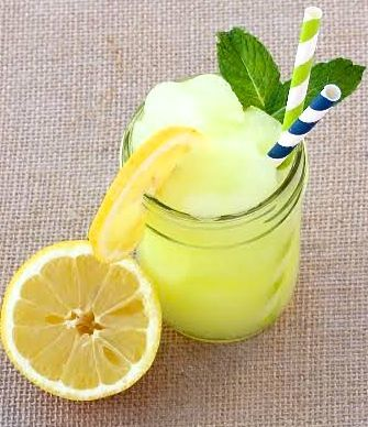 Lemonade Slushie Recipe - and 15 other delicious summer drink recipes!