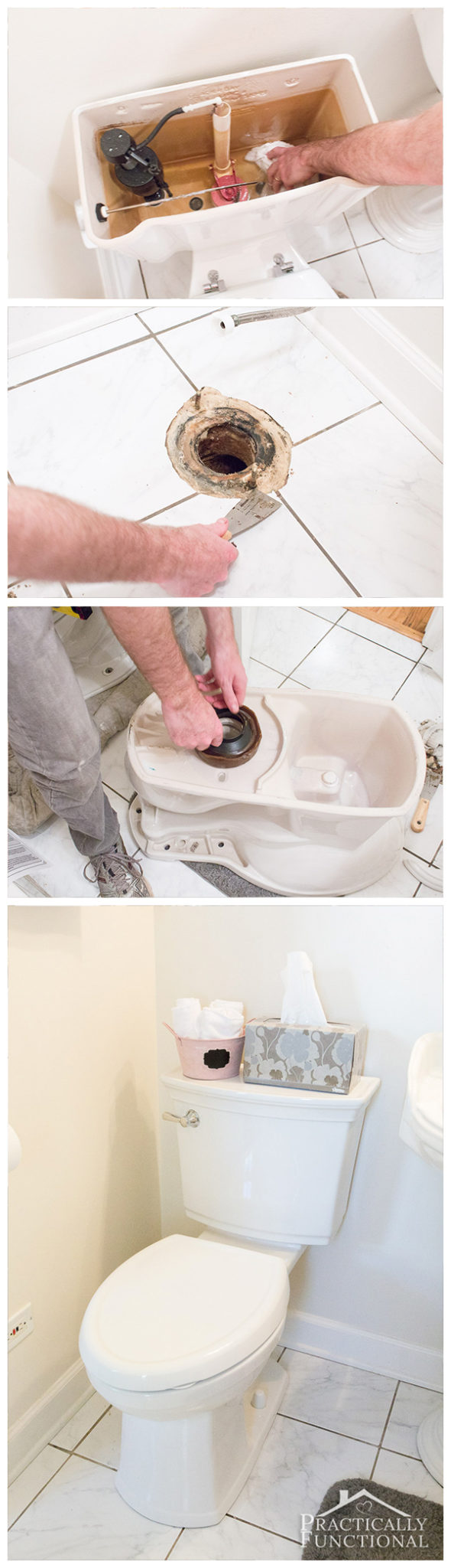 Learn how to install a toilet yourself, and save a call to the plumber!