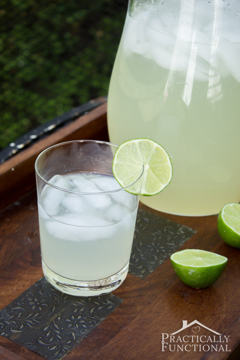 This homemade limeade recipe is so refreshing and delicious, and easy to make!