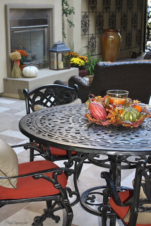 Fall porch decorations - and 9 other gorgeous fall porch ideas!