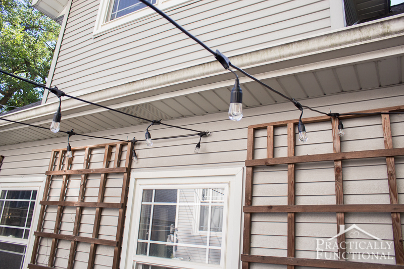 Patio Hanging String Lights
