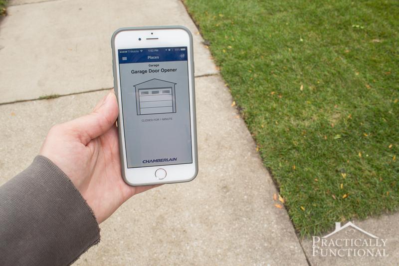 Open Your Garage Door With Your Phone 9