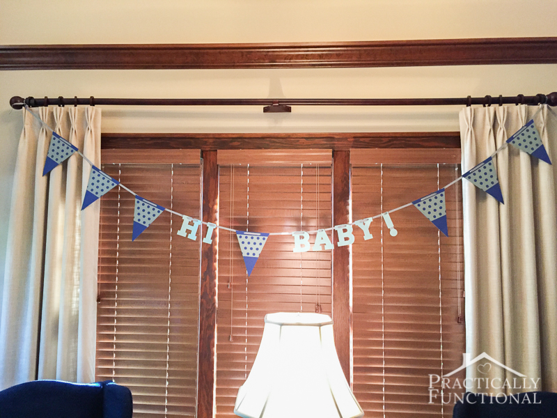 Simple Baby Shower Banner 2