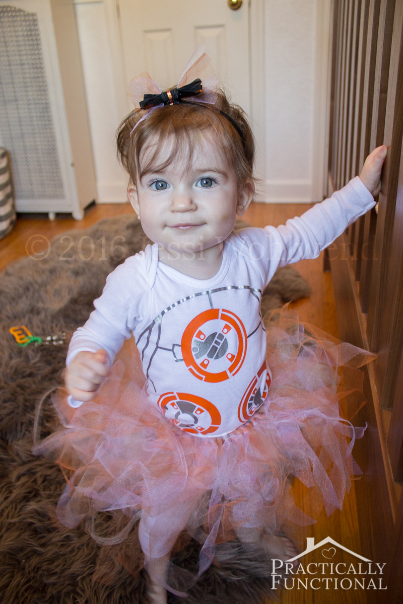 Easy Diy Bb 8 Costume For Baby