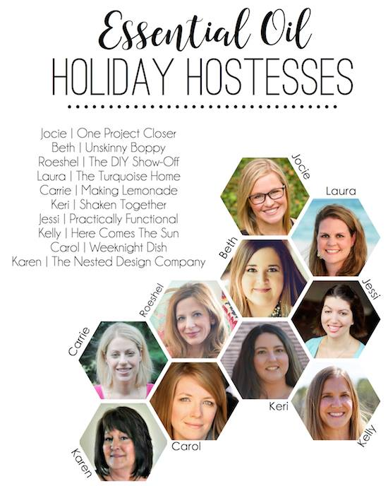 Essential oil holiday hostesses