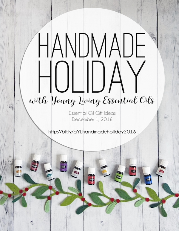 Handmade holiday ideas with Young Living essential oils