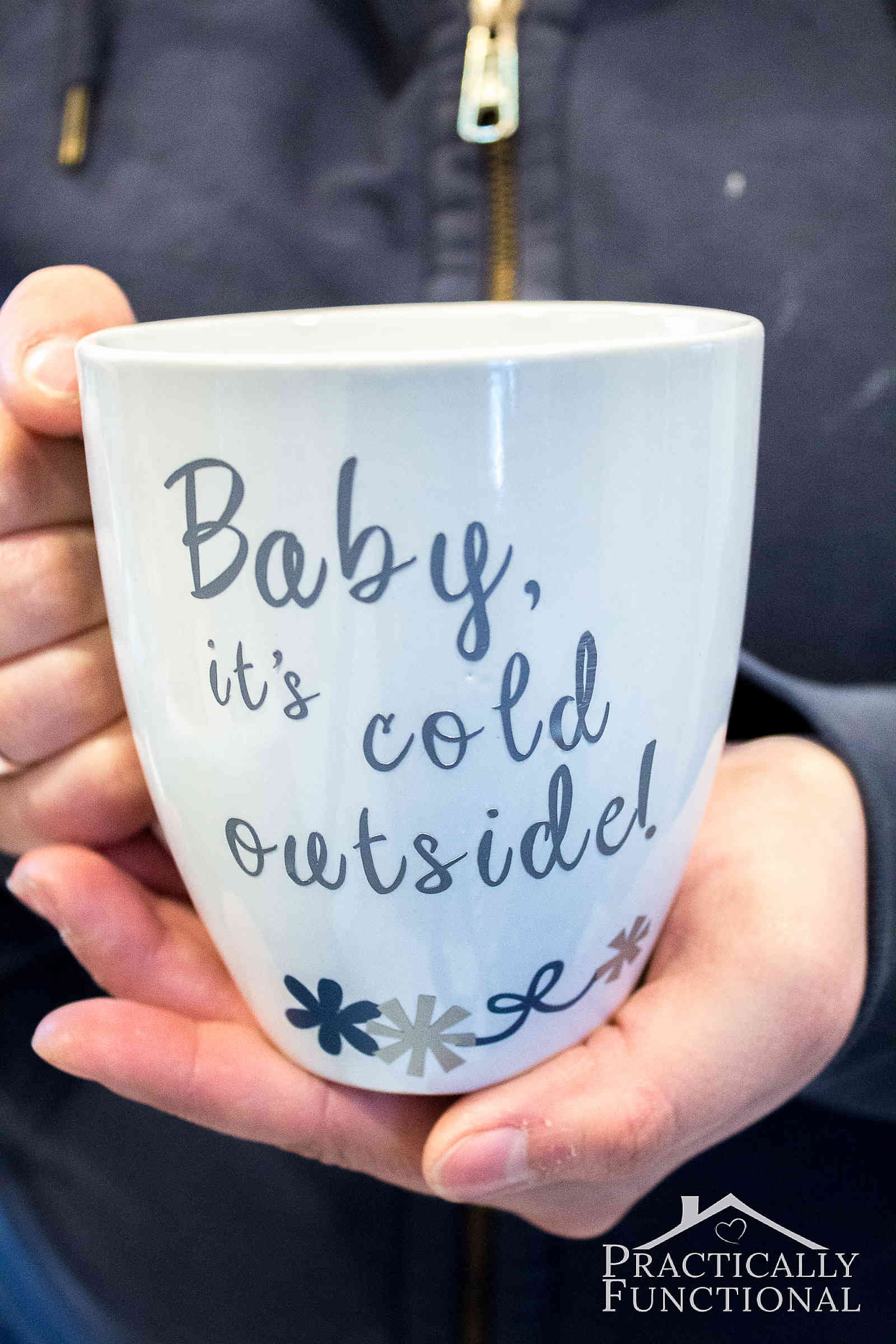 Make Your Own Mug With Vinyl And A Cricut Explore Air