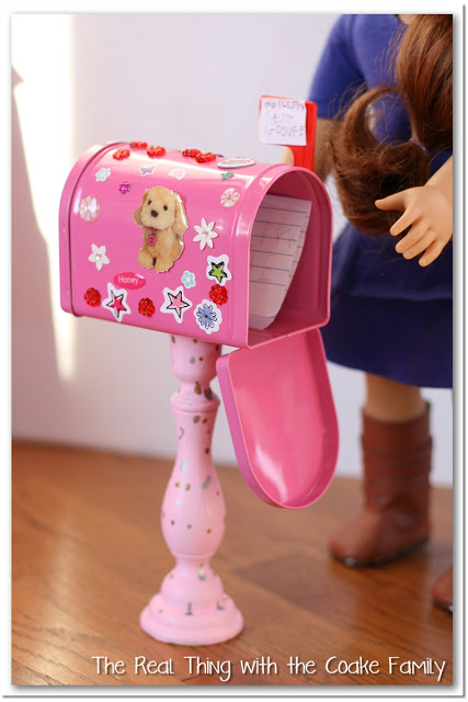 American Girl Valentine Mailboxes - and 19 other fun valentines crafts!
