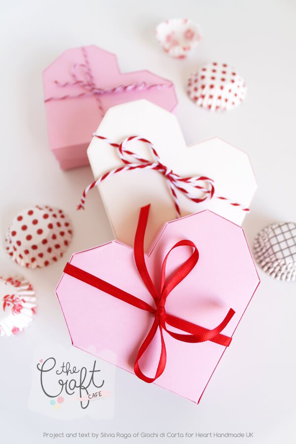 How To Make An Origami Heart Gift Box - and 19 other fun valentines crafts!
