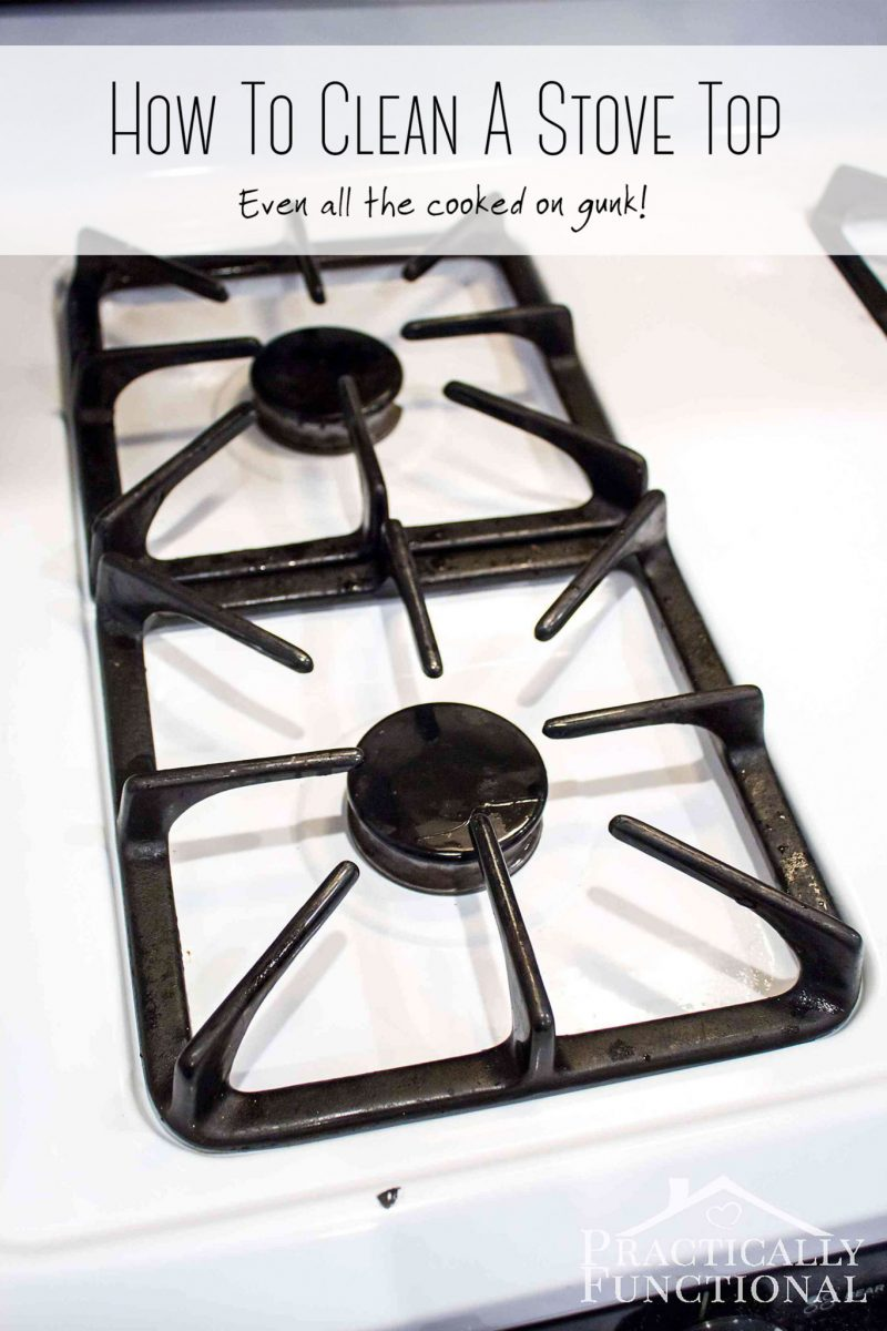 The Absolute Easiest Way To Clean Stove Top Grates