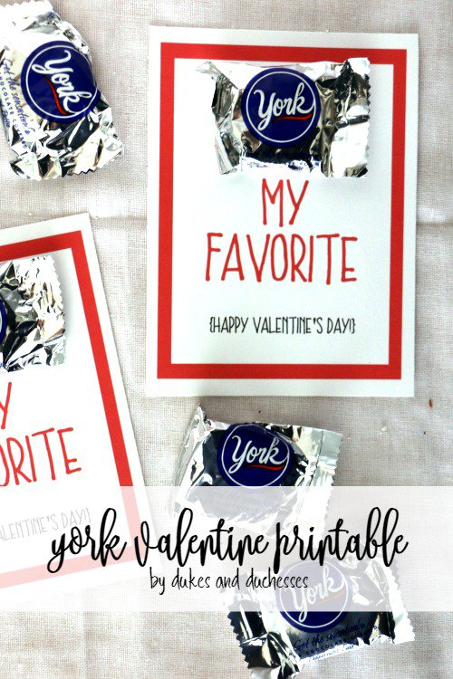 YORK VALENTINE PRINTABLE - and 9 other cute printable valentines!