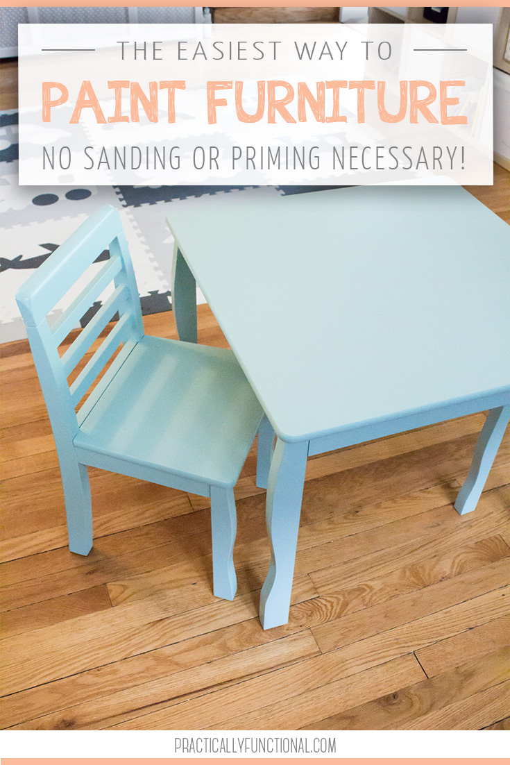 The Easiest Way To Paint Furniture No