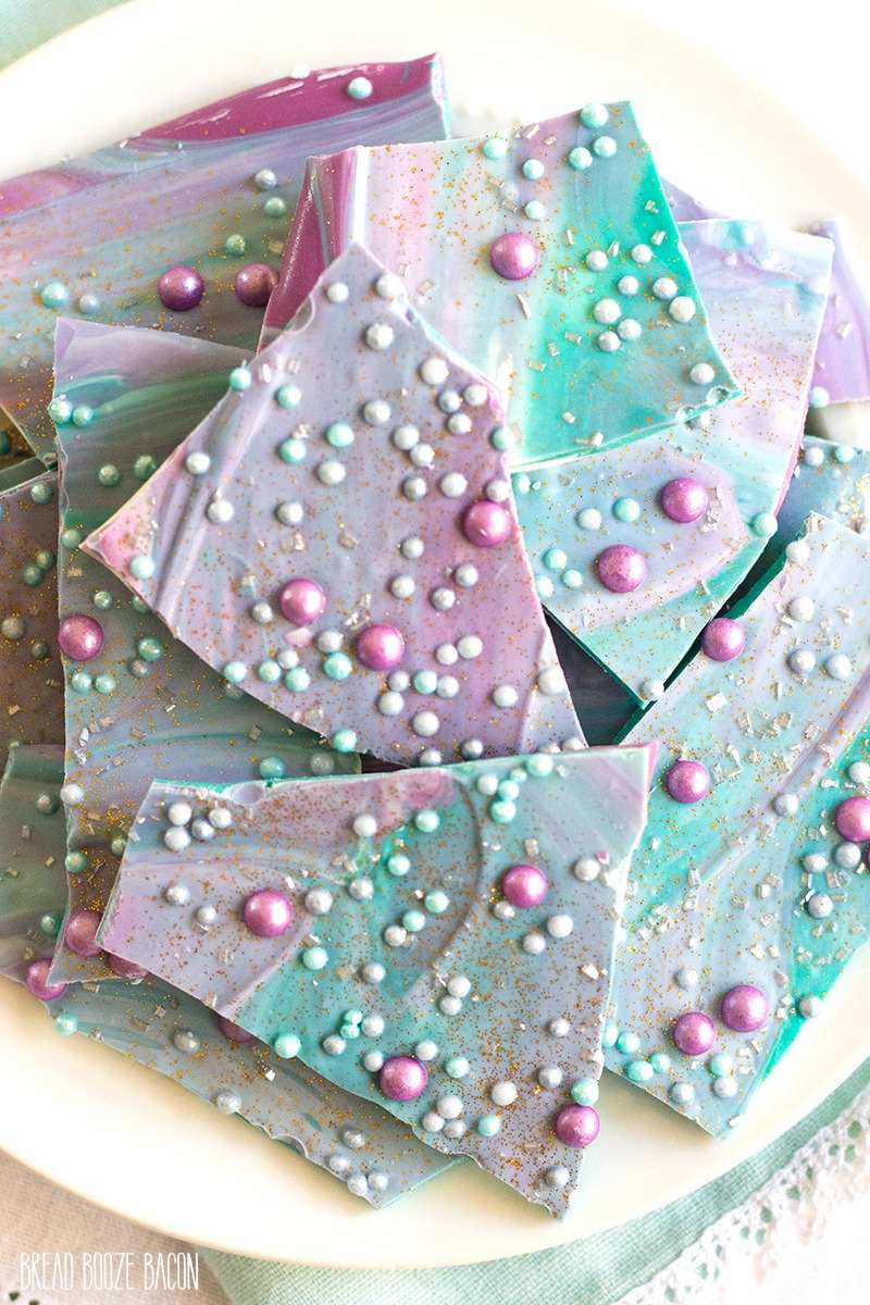 Mermaid bark recipe