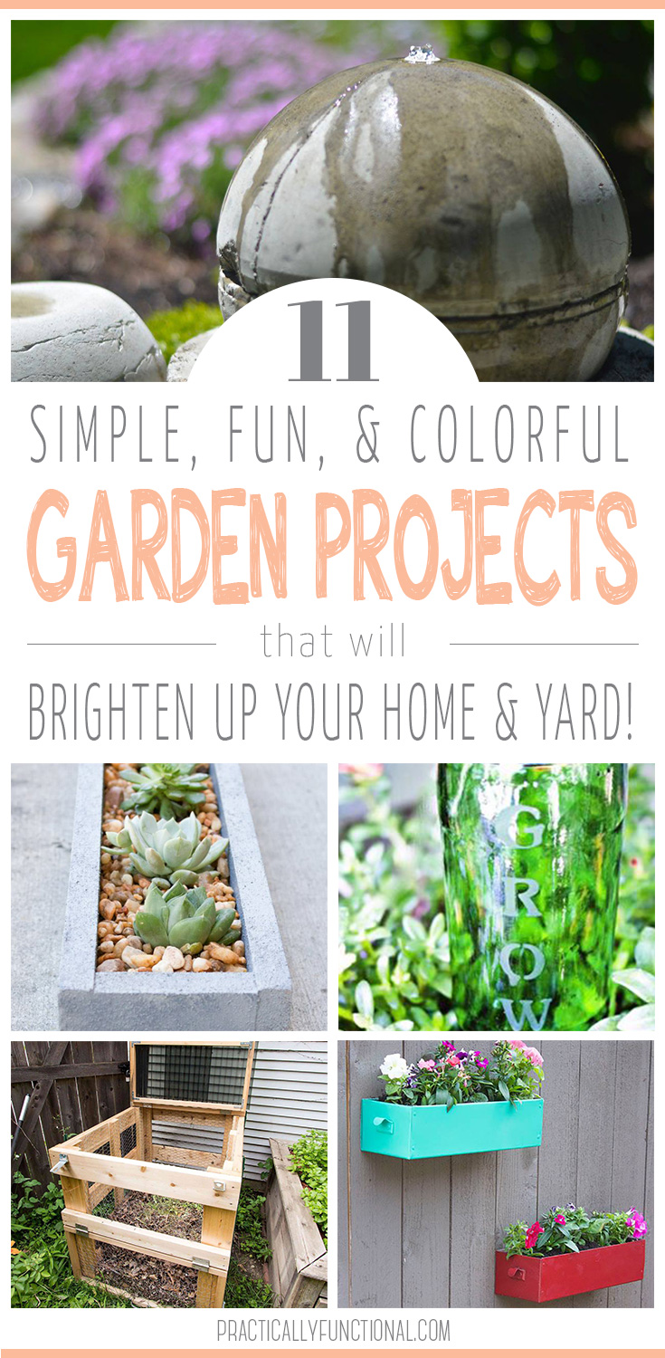 garden projects to brighten up your yard