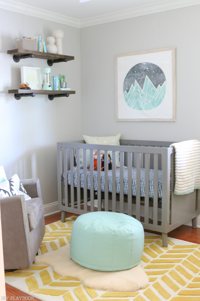 Neutral Baby Room Idea