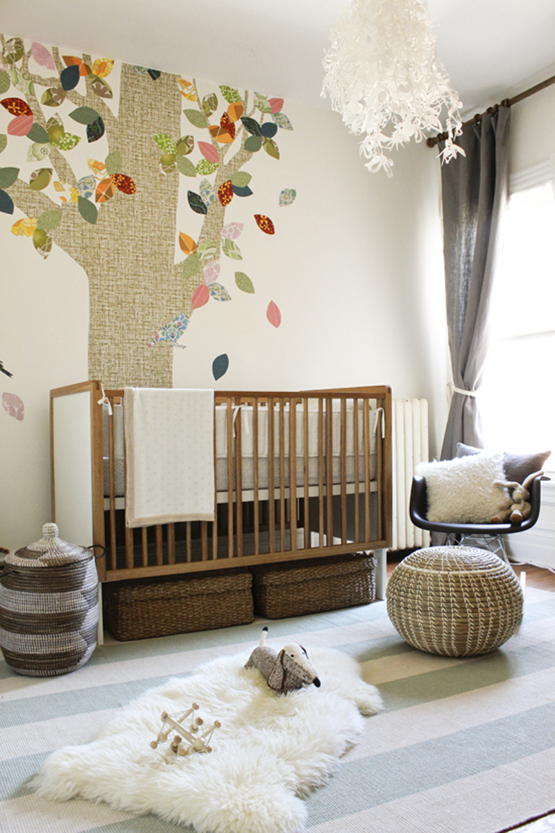 whimsical forest nursery