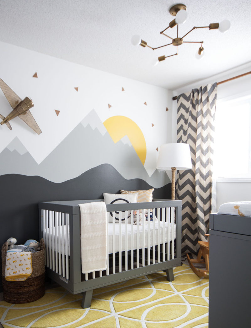He Will Move Mountains Inspired Nursery