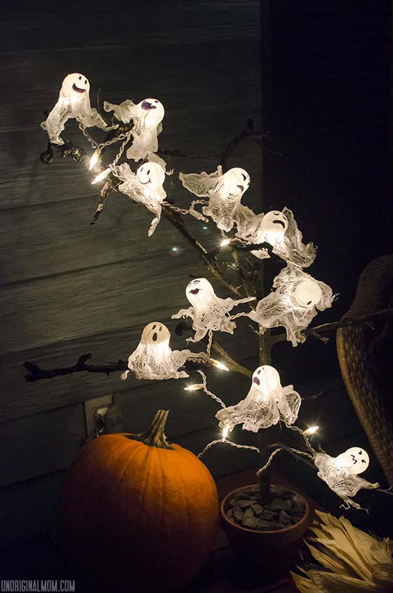 ghost party string lights