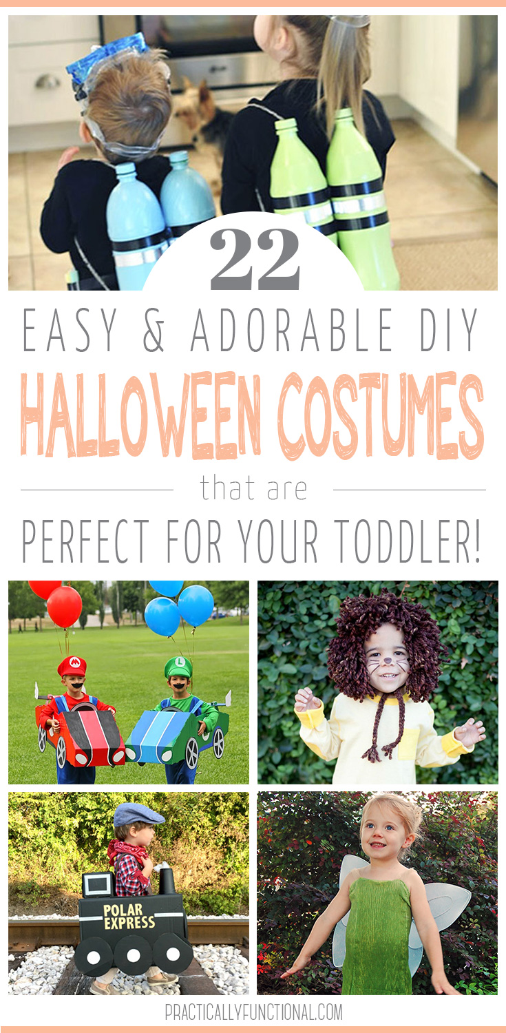 21 Easy Toddler Halloween Costumes