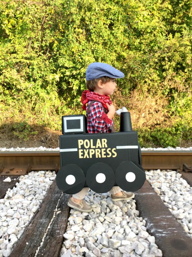 Polar Express Train Toddler Costume