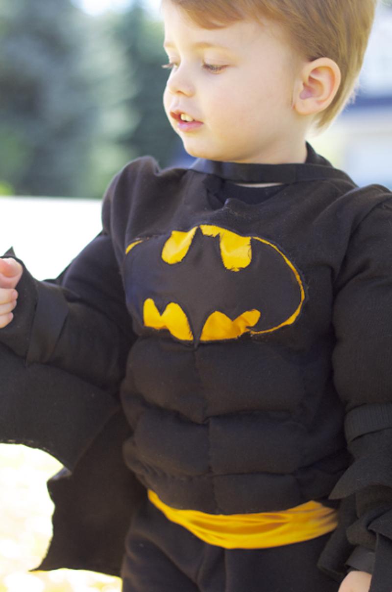 DIY Batman Toddler Costume