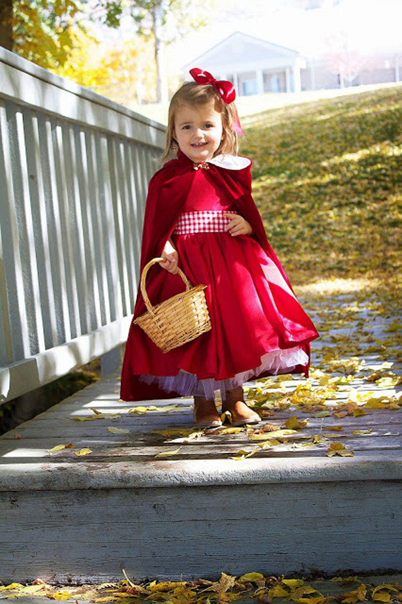 22 diy toddler halloween costumes little red riding hood toddler costume solutioingenieria Gallery