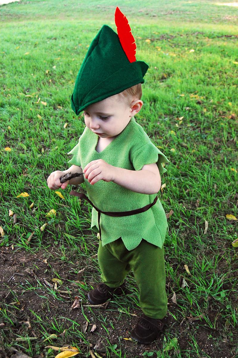 DIY Peter Pan Toddler Costume