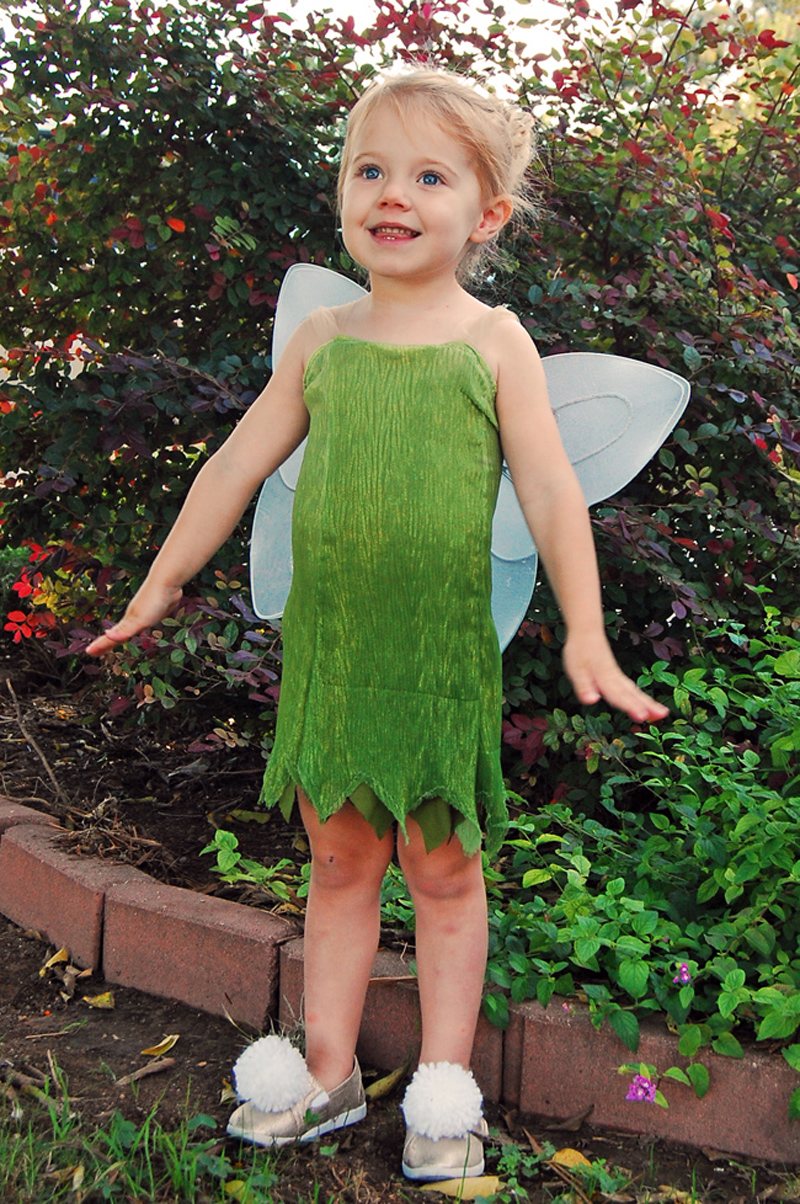 22 diy toddler halloween costumes diy tinkerbell toddler costume solutioingenieria Images