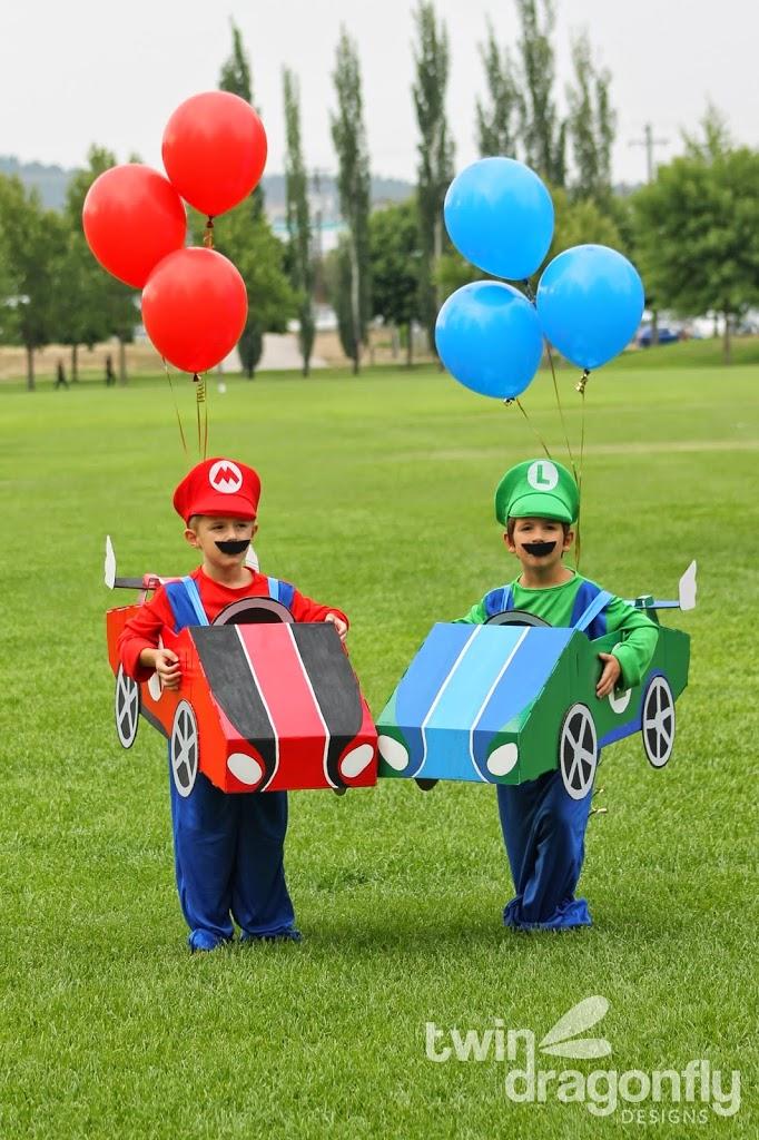 Mario and Luigi Toddler Costumes