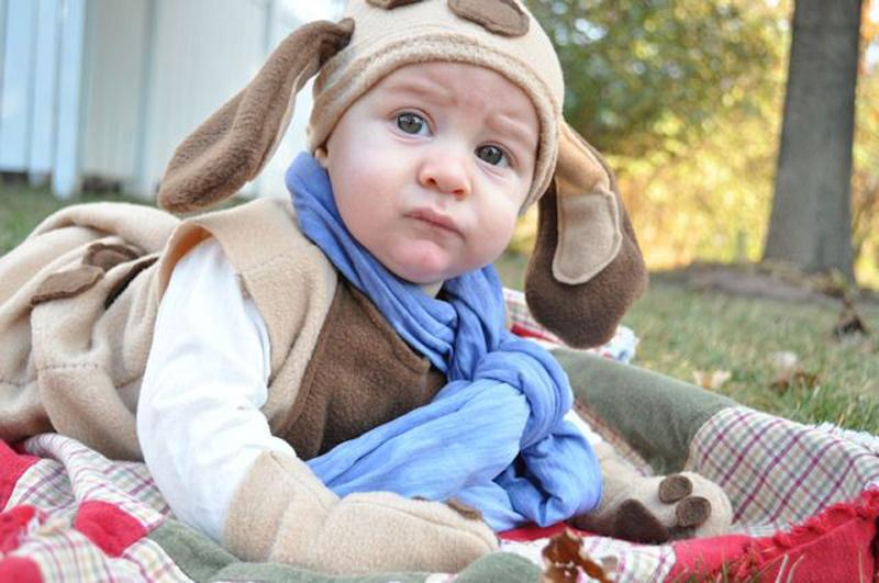 DIY Puppy Toddler Costume