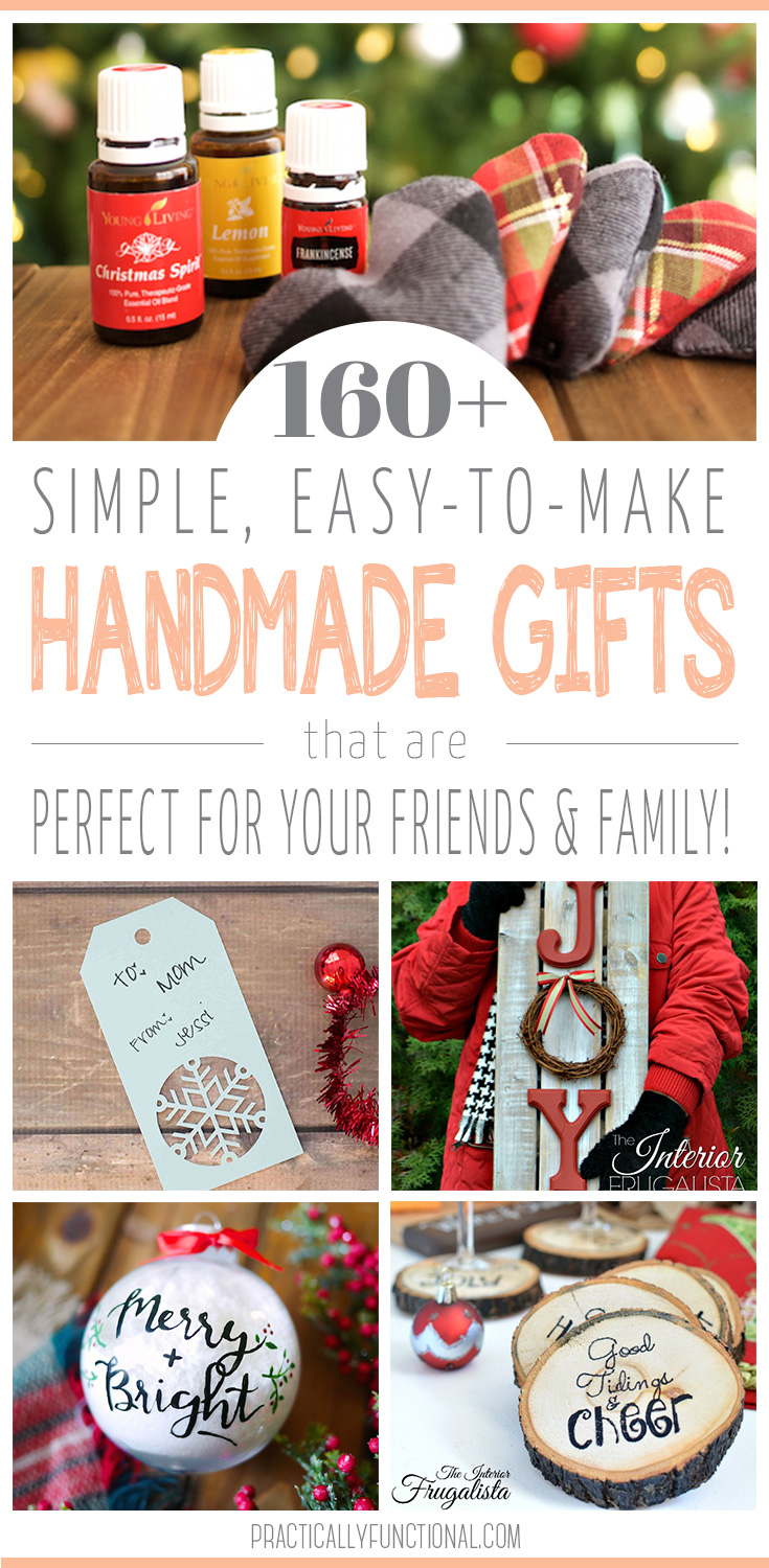 160 Handmade Gift Ideas