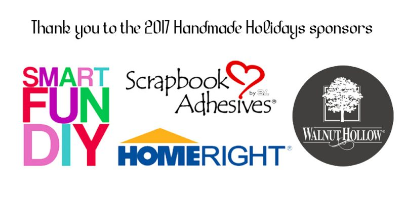 2017 Handmade Holiday Sponsors