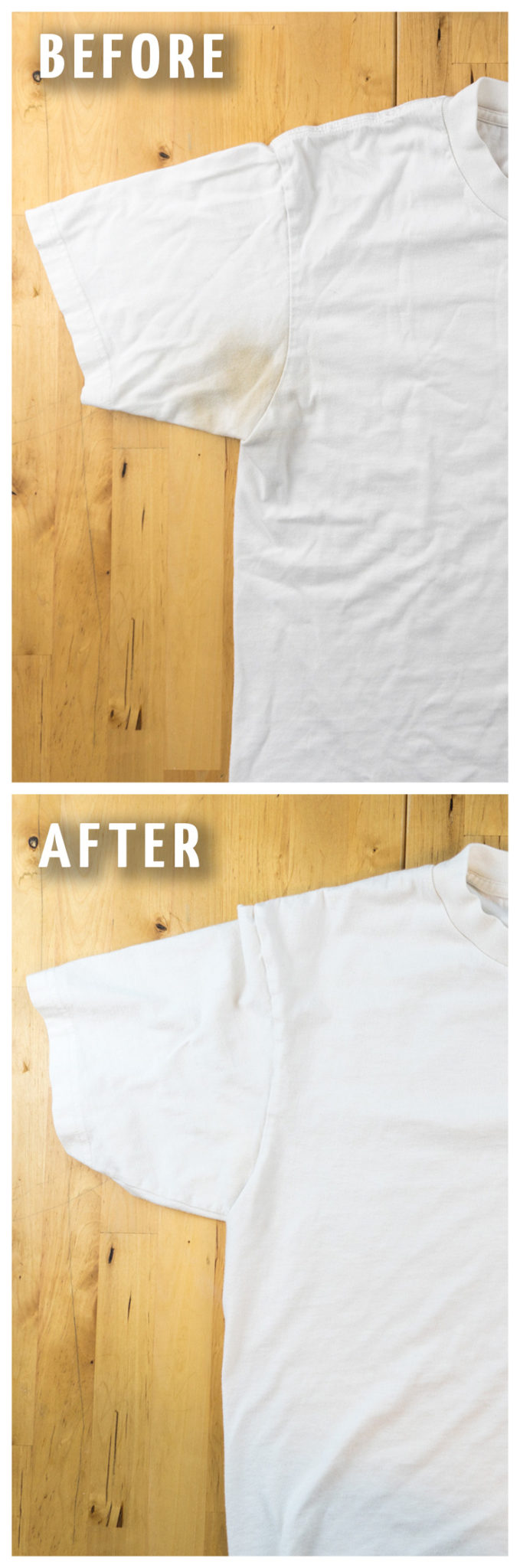 6622da6b5b3c How To Remove Yellow Sweat Stains From Your Clothes The Easy Way!